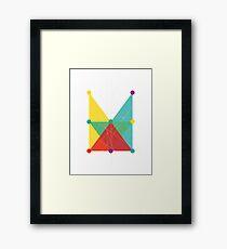 'Symmetrical' Rectangle  Framed Print