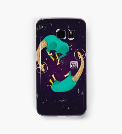 Space Giraffes Samsung Galaxy Case/Skin