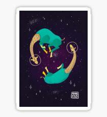 Space Giraffes Sticker