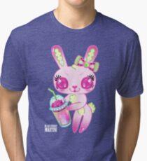 Brain Freeze Bunnies Tri-blend T-Shirt