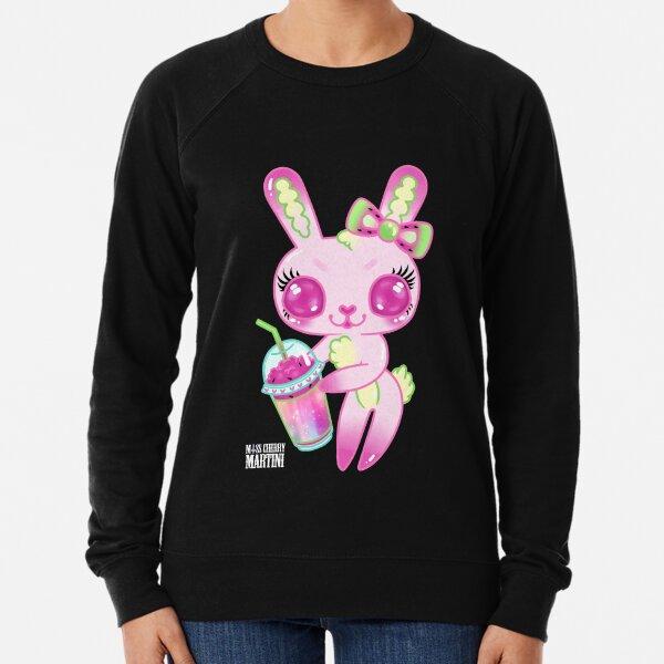 Brain Freeze Bunnies Lightweight Sweatshirt