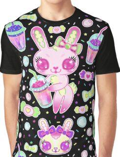 Brain Freeze Bunnies Graphic T-Shirt