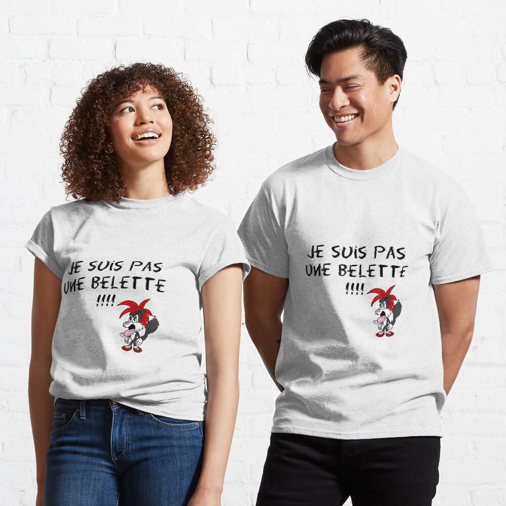 T-shirt classique «Max le Fou - Myles n'est pas une belette»