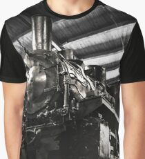 Steam Train, Locomotive Graphic T-Shirt