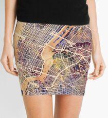Minifalda Mapa de la calle de la ciudad de Nueva York