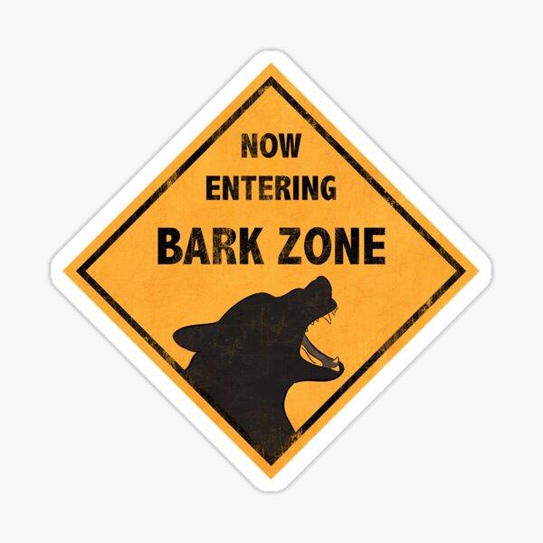 Maligator - The Bark Zone Sticker
