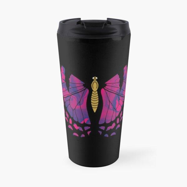 Tie Dye Butterfly Travel Mug