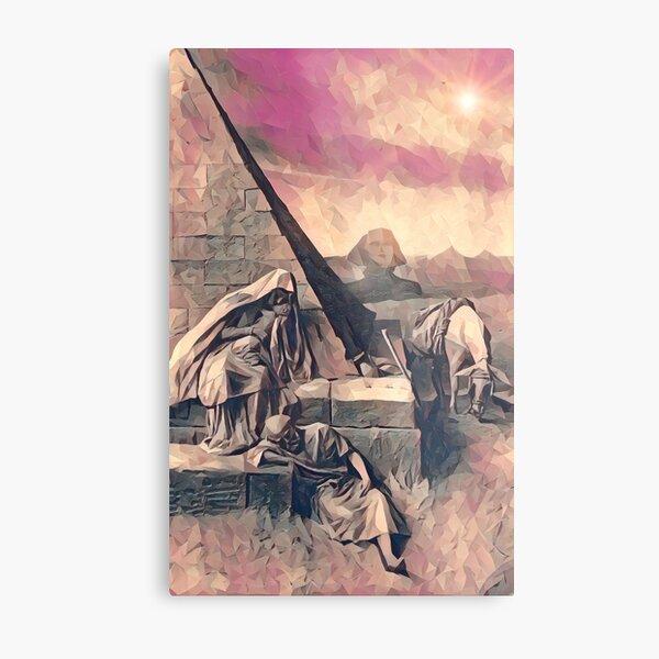 The Escape to Egypt Metal Print