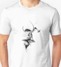 Kissing Lips Unisex T-Shirt