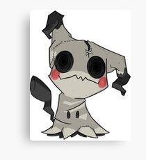 Mimikkyu - Pokemon Canvas Print