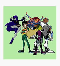 Teen titans Photographic Print