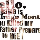 My Name is Inigo Montoya by sionyboy82