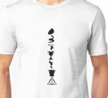 Harry Potter Book Collection Symbols Unisex T-Shirt