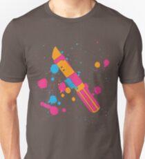 Darth Vader Lightsaber Paint Splatter (Full Color) Unisex T-Shirt