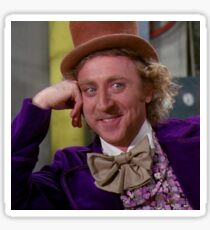 Condescending Wonka MEME Sticker