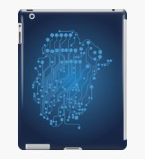 Human brain, logical thinking iPad Case/Skin