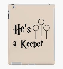 He is a Keeper iPad Case/Skin