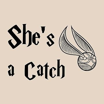 She is a Catch by redscarf