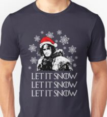 Let it snow - Christmas  T-Shirt