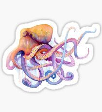 Octopus II Sticker