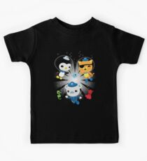 Octonauts, to your stations! Kids T-Shirt