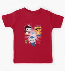 Octonauts, to your stations! Kids Tee