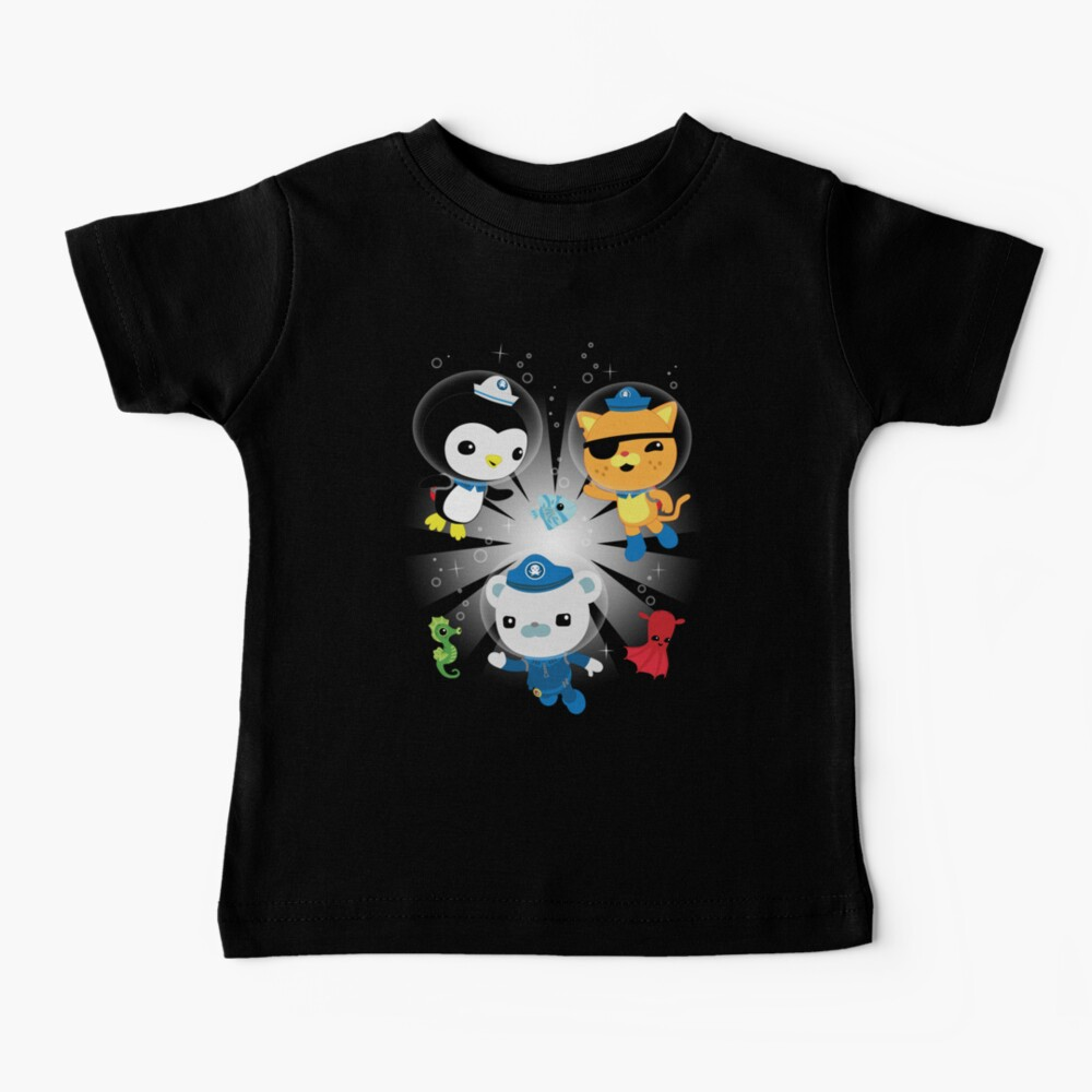 Octonauts, to your stations! Baby T-Shirt