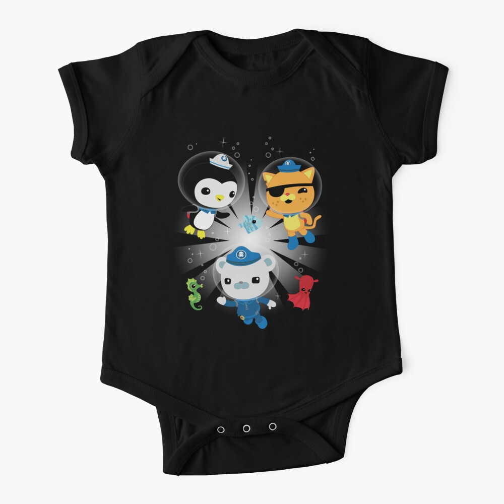 Octonauts, to your stations! Baby One-Piece