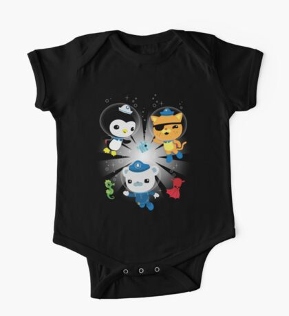 Octonauts, to your stations! One Piece - Short Sleeve
