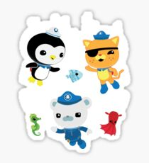 Octonauts, to your stations! Sticker