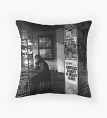 Were you there Throw Pillow