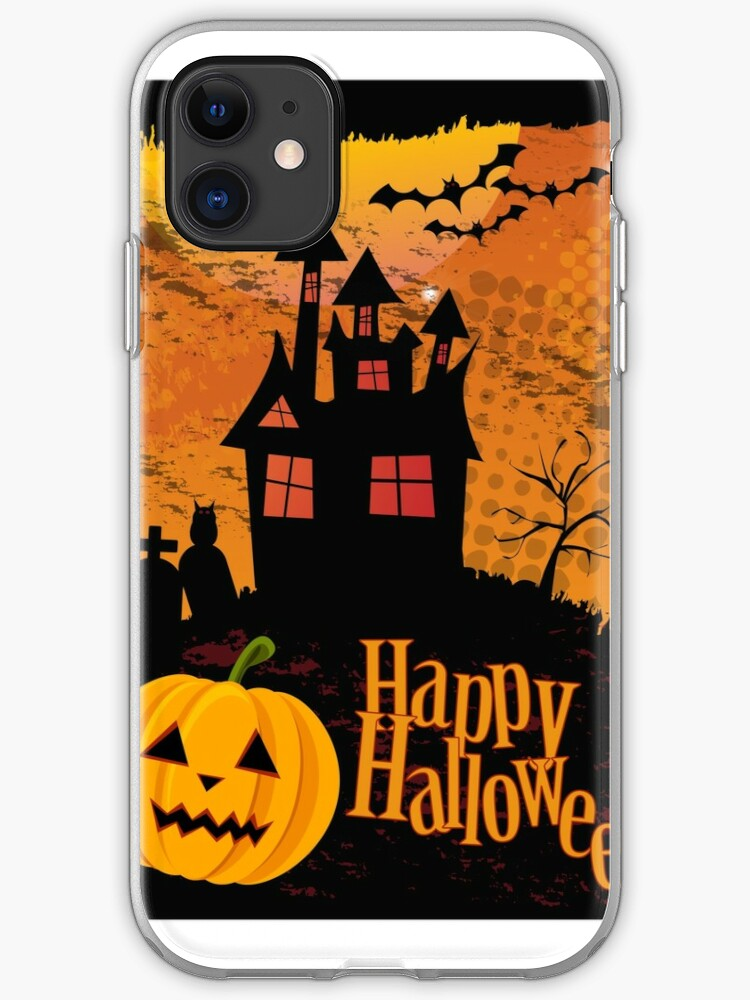 Halloween Background Iphone Case Cover By Bluelela Redbubble