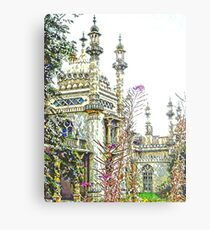 View to the Royal Pavilion Brighton Metal Print