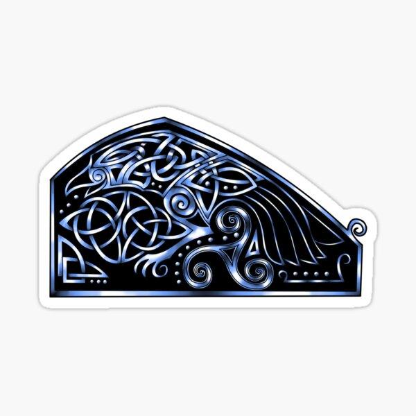 Celtic Raven Sticker