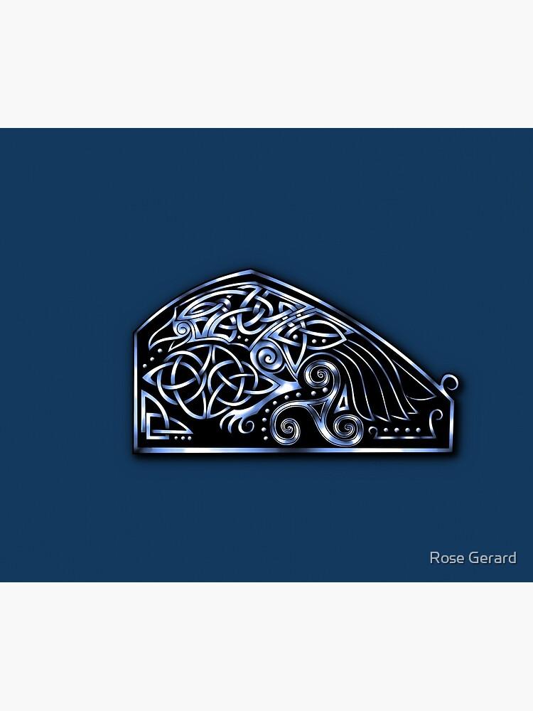 Celtic Raven by arkadyrose