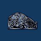 Celtic Raven by Rose Gerard