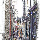 Shopping in The Lanes Brighton by Dorothy Berry-Lound