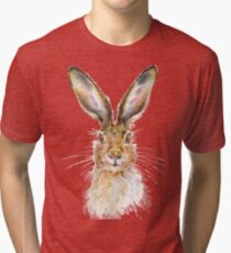 Hare Tri-blend T-Shirt