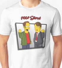 Peep Show - El Dude Brothers - Simpsons Style! T-Shirt