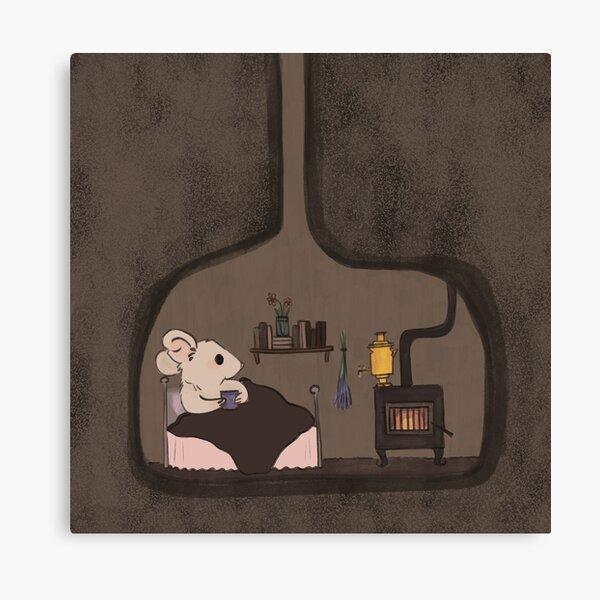 cozy inside Canvas Print