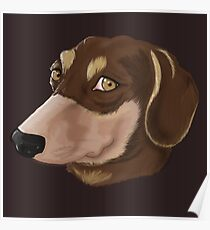 Puppy Muzzle Poster