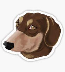 Puppy Muzzle Sticker