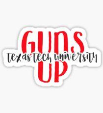 Texas Tech University - Style 9 Sticker