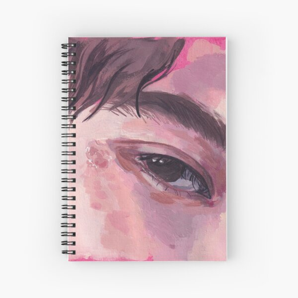 Eye study 002 Spiral Notebook