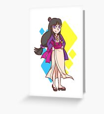 New Maya Fey Greeting Card