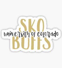 University of Colorado - Style 9 Sticker