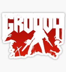 Doomy and Groovy Sticker