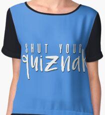 quiznak Women's Chiffon Top