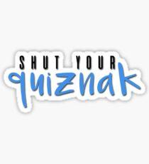 quiznak Sticker