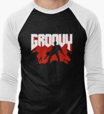 Doomy and Groovy Men's Baseball ¾ T-Shirt
